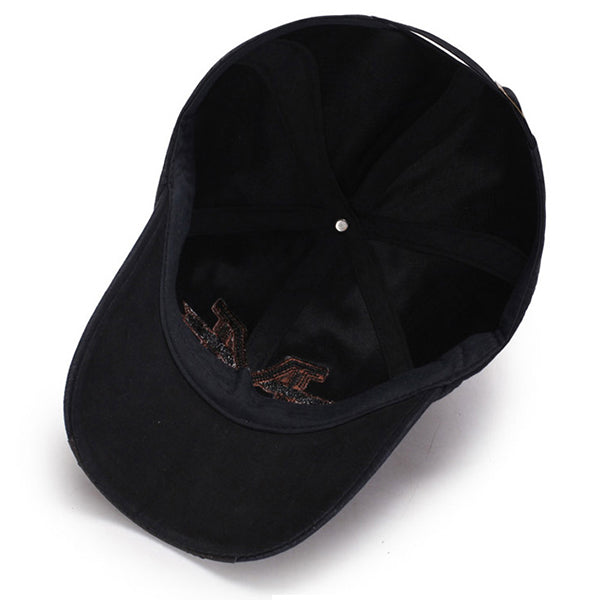 High Quality Washed Cotton Baseball Cap Outdoor Sunshade Adjustable Good Cap For Men