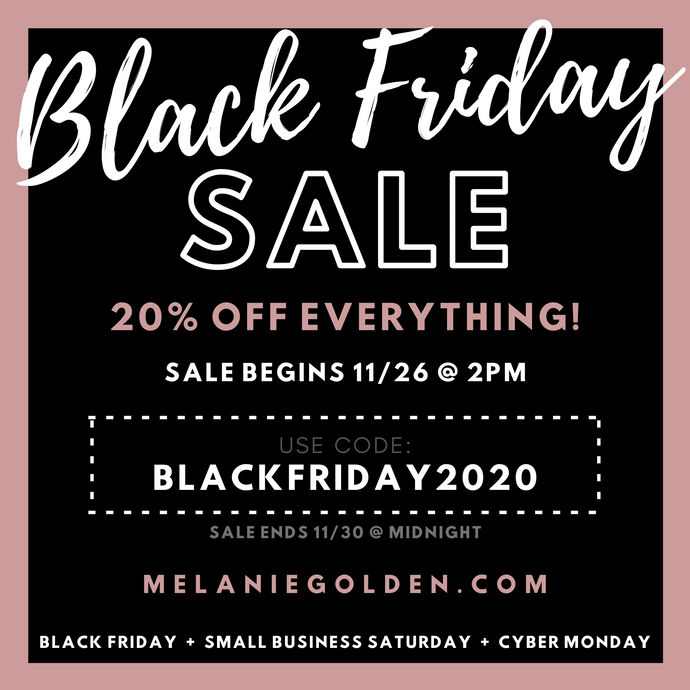 Black Friday Sale Starting Soon!