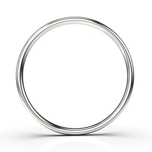Sterling Silver Smooth Stacking Rings