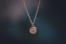 Load image into Gallery viewer, Solid 14K Gold Silvermist Diamond Necklace // The River Valley Collection