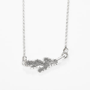 The Pine Bough Necklace // MGJ Signature Collection