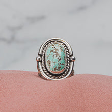 Load image into Gallery viewer, SIZE 7.5 Carico Lake Turquoise Gemstone Ring