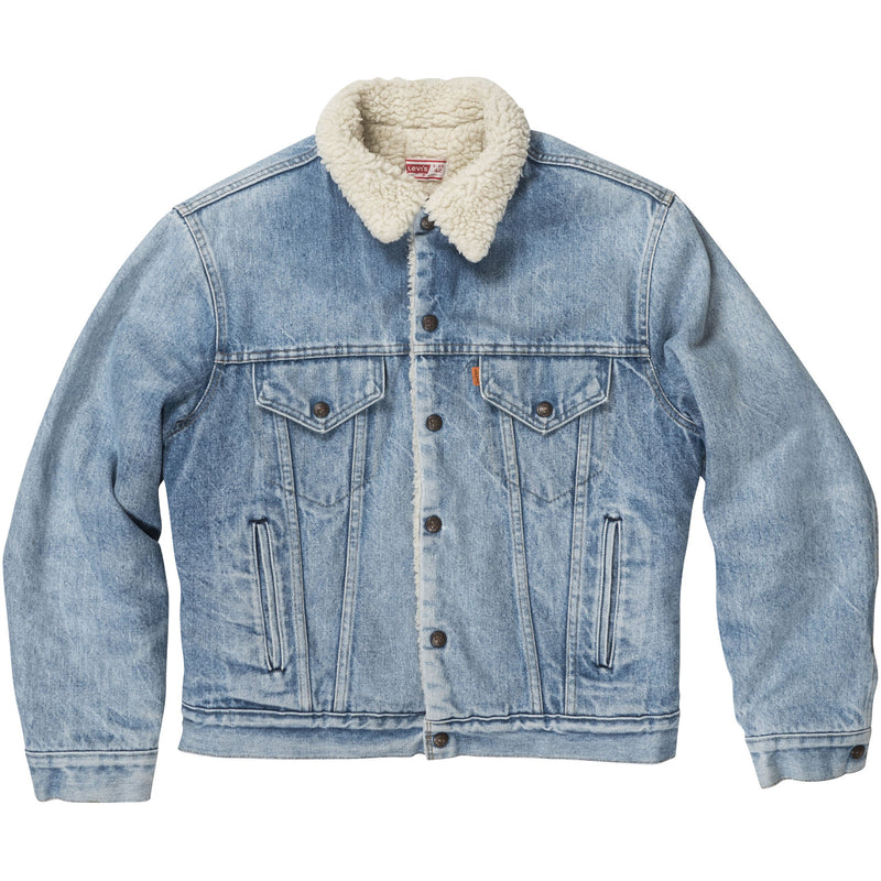 LEVI'S DENIM SHEARLING VINTAGE JACKET