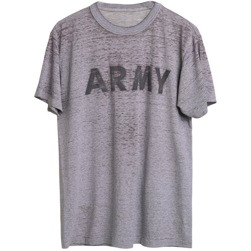 VINTAGE ARMY TEE - HEAVY DISTRESS