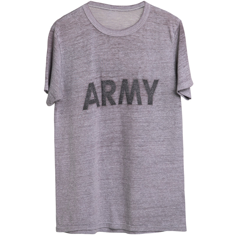 VINTAGE ARMY TEE - MEDIUM DISTRESS