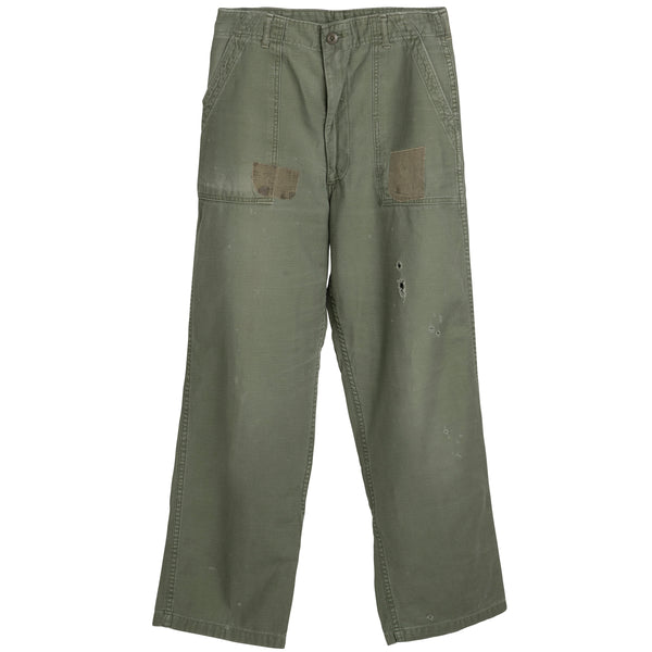 VINTAGE US MILITARY PANTS - SIZE 28
