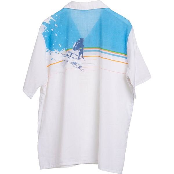 VINTAGE LIGHTNING BOLT SURF SHIRT