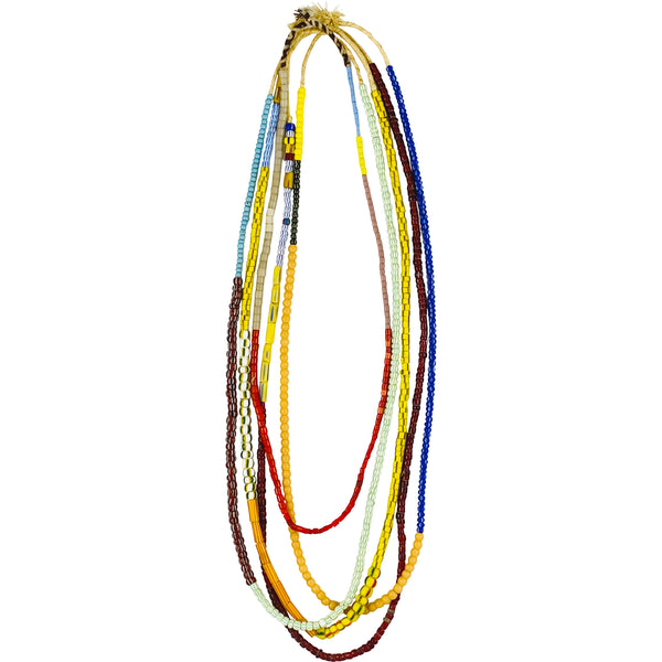 CURATED AFRICAN BEADED STRINGS x 5