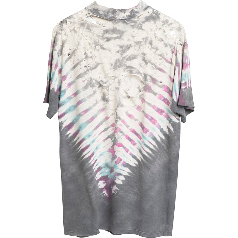 VINTAGE DESTROYED TIE DYE TEE