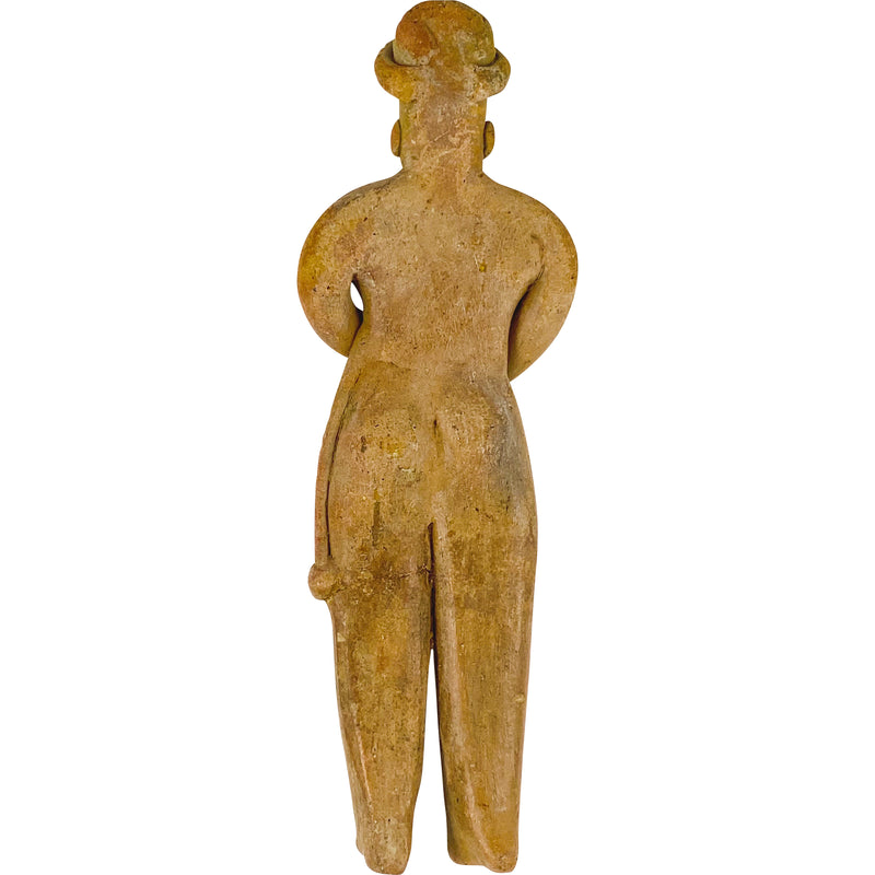 PRE-COLOMBIAN CLAY FIGURE