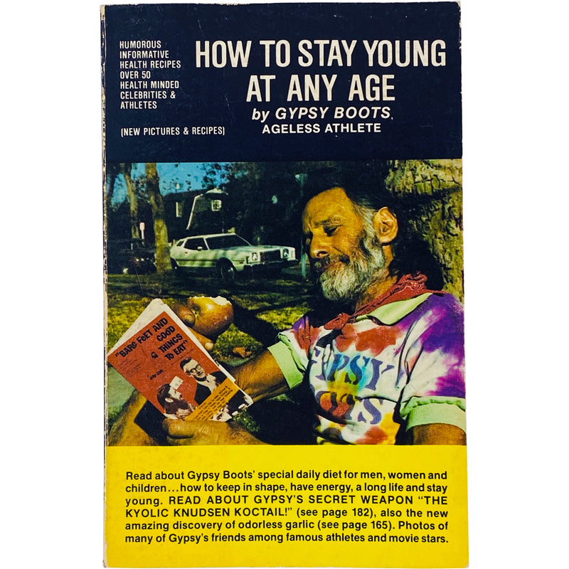 GYPSY BOOTS - HOW TO STAY YOUNG AT ANY AGE BOOK
