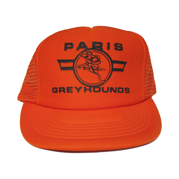 VINTAGE PARIS GREYHOUNDS MESH HAT
