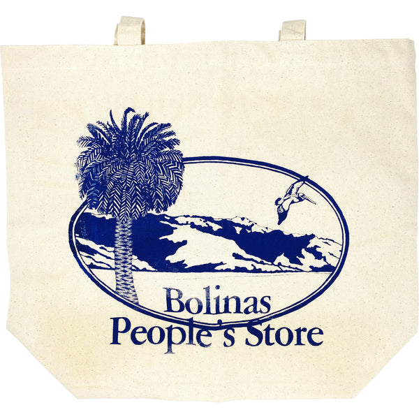 BOLINAS PEOPLE'S STORE CANVAS BAG