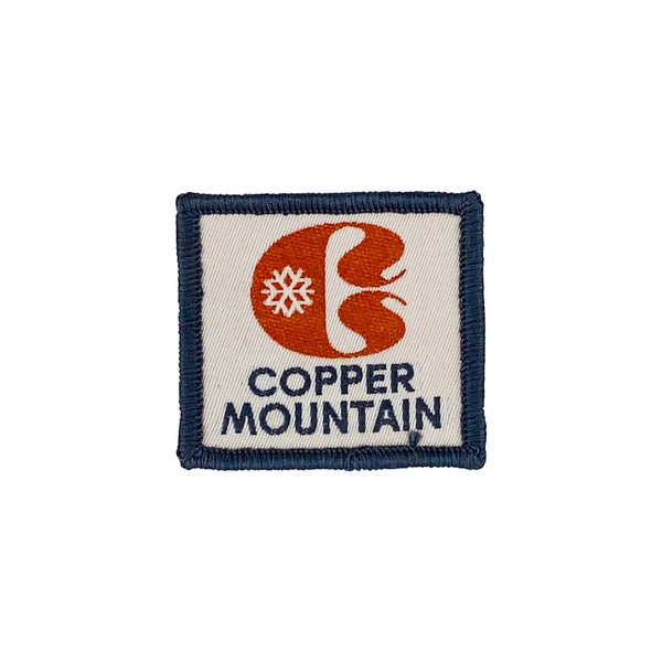 VINTAGE COPPER MOUNTAIN SKI PATCH
