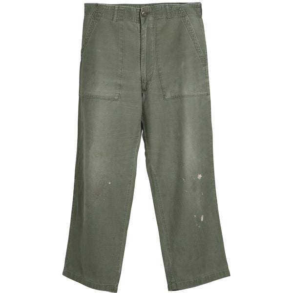 VINTAGE US MILITARY PANTS - SIZE 32