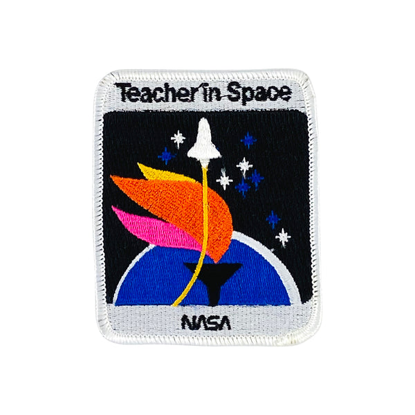TEACHER IN SPACE CHALLENGER SHUTTLE PATCH