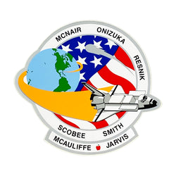 SPACE SHUTTLE CHALLENGER STICKER