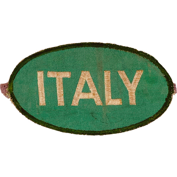 VINTAGE WWII ITALY ARM PATCH