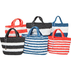 HAND WOVEN RECYCLED PLASTIC BAG