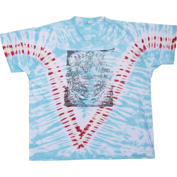 GRATEFUL DEAD VINTAGE PARKING LOT TIE DYE TEE
