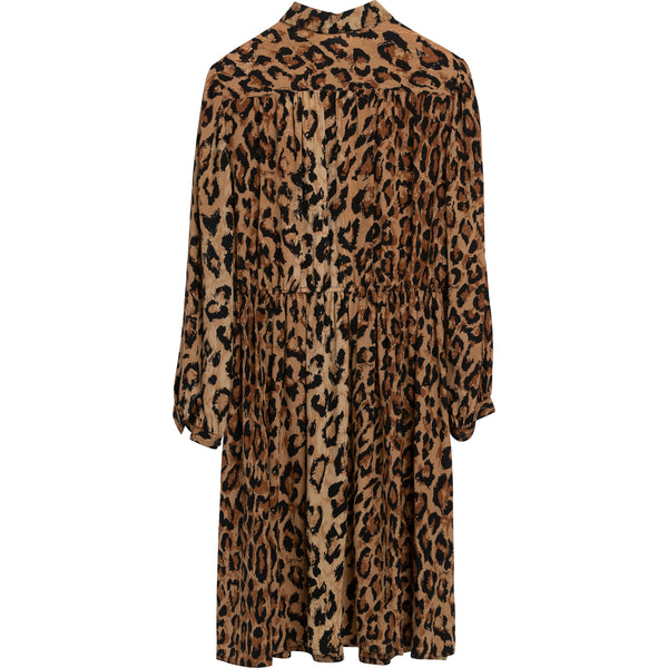 VINTAGE KEN SCOTT LEOPARD DRESS
