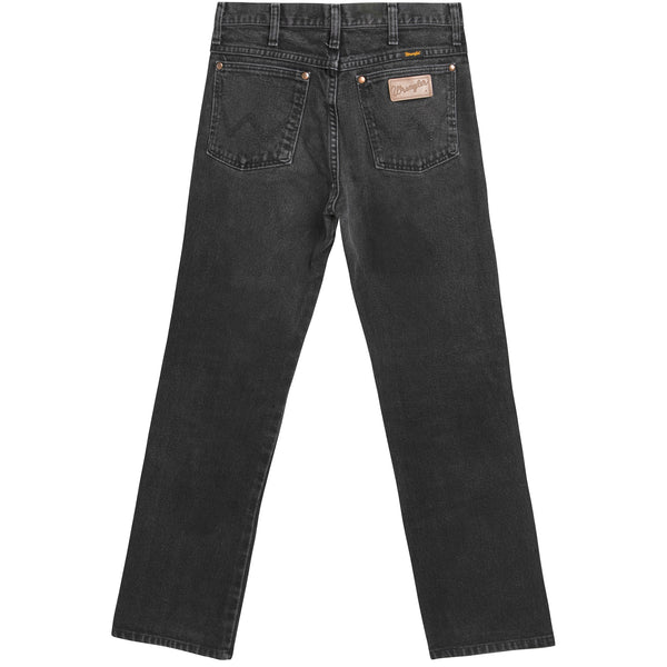 VINTAGE WRANGLER JEANS - BLACK MEDIUM WASH