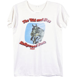 VINTAGE HOLLYWOOD PARK HORSE TEE