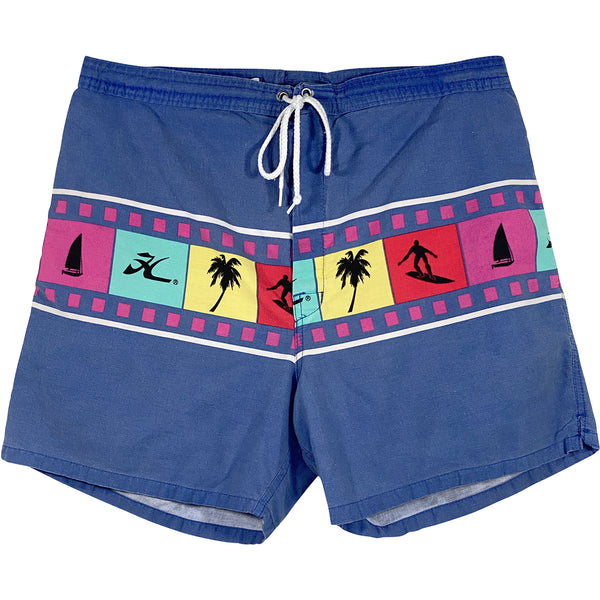 VINTAGE HOBIE SWIM TRUNKS