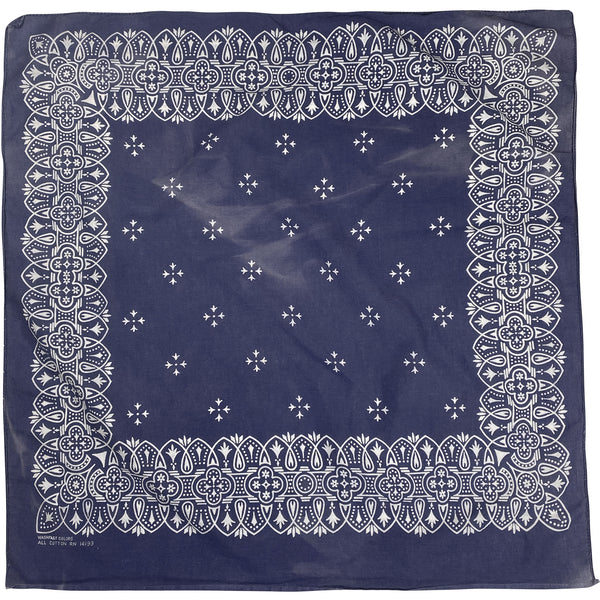 VINTAGE WASHFAST COLORS BANDANA