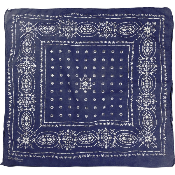 VINTAGE FAST COLOR ELEPHANT TRUNK UP BANDANA