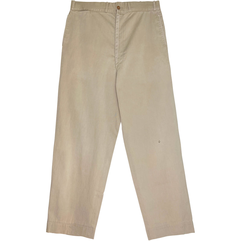 VINTAGE BEAT UP CHINOS - Size 32