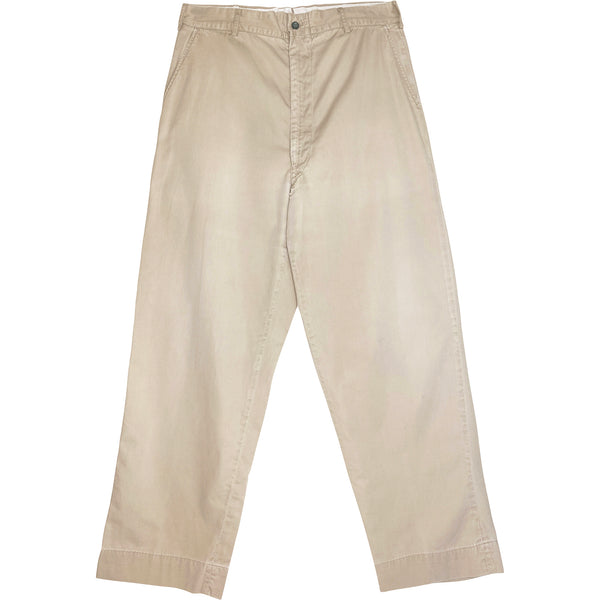 VINTAGE BEAT UP CHINOS - Size 31