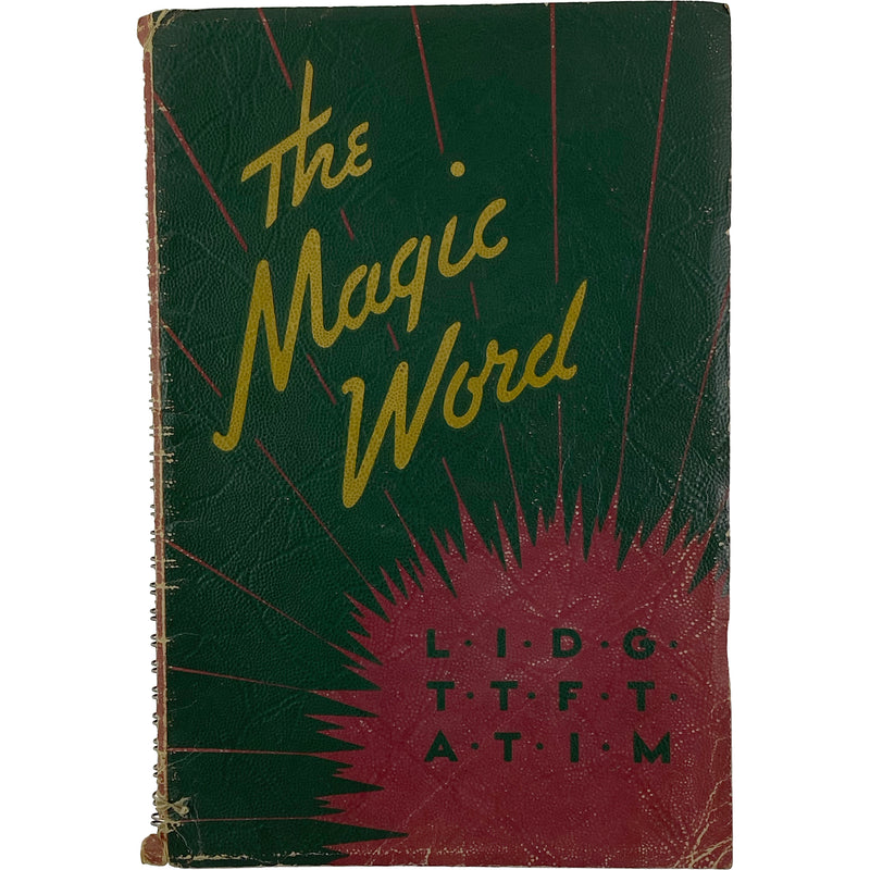 THE MAGIC WORD BOOK