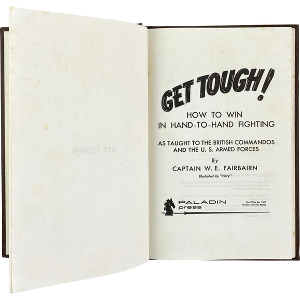GET TOUGH! BOOK