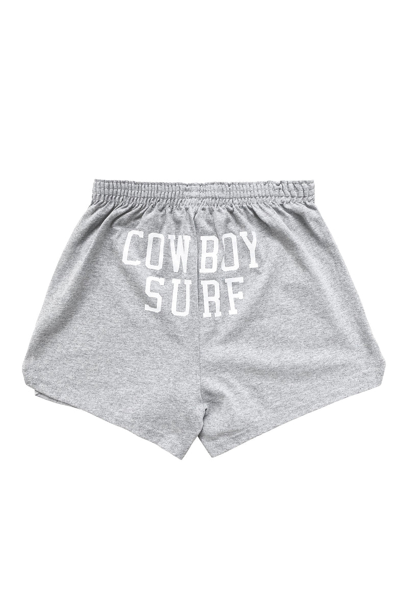 COWBOY SURF CHEER SHORTS