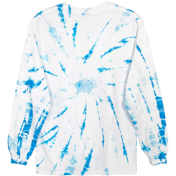 MAUI TIE DYE LONG SLEEVE TEE - M