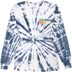 MAUI TIE DYE LONG SLEEVE TEE - S
