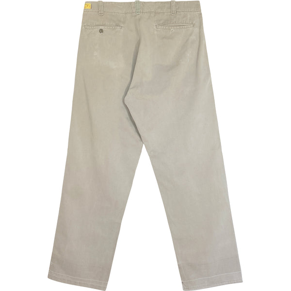 VINTAGE BEAT UP WORK CHINOS - Size 30