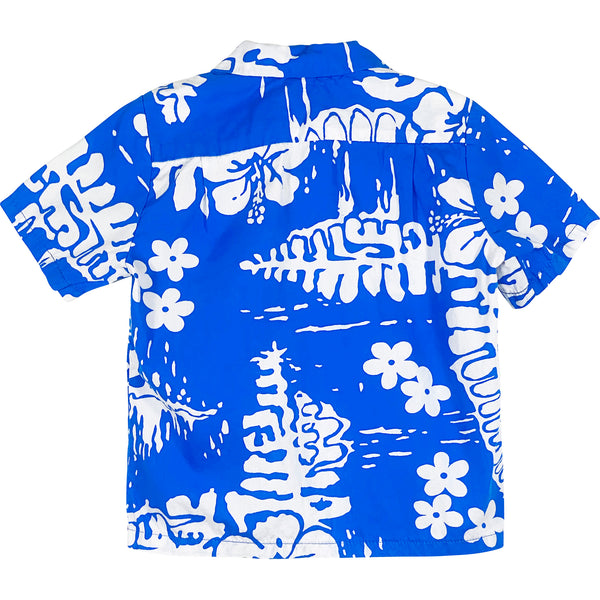 VINTAGE KIDS HAWAIIAN SHIRT