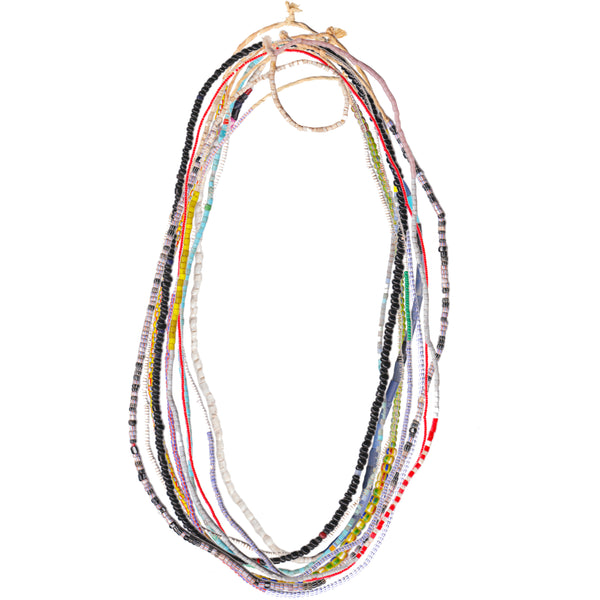 CURATED AFRICAN BEAD STRING X 10