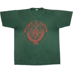 VINTAGE NY DEPT. OF SANITATION TEE