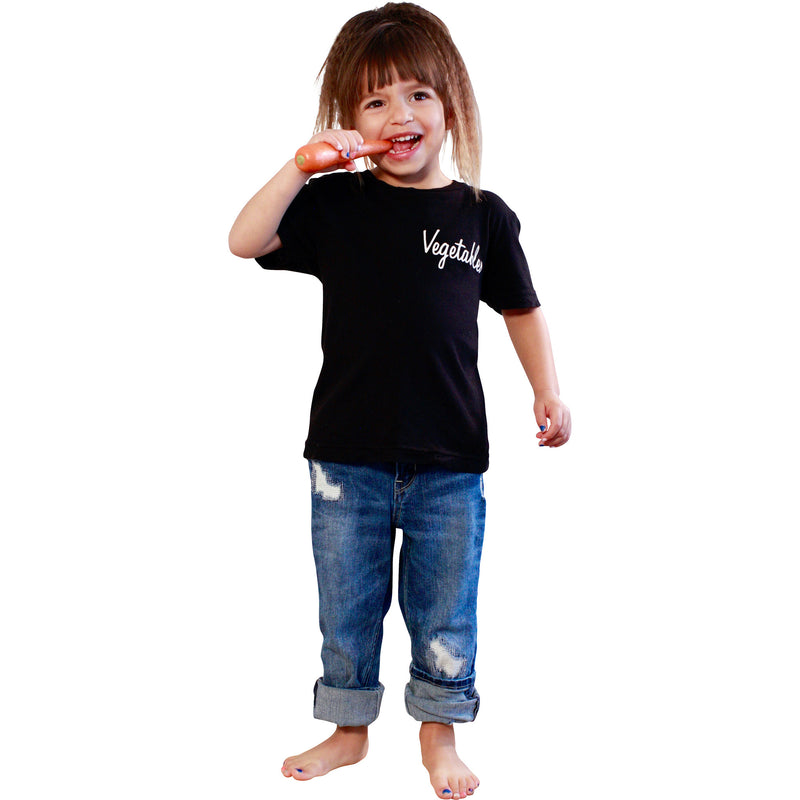 VEGGIES KIDS CREW TEE