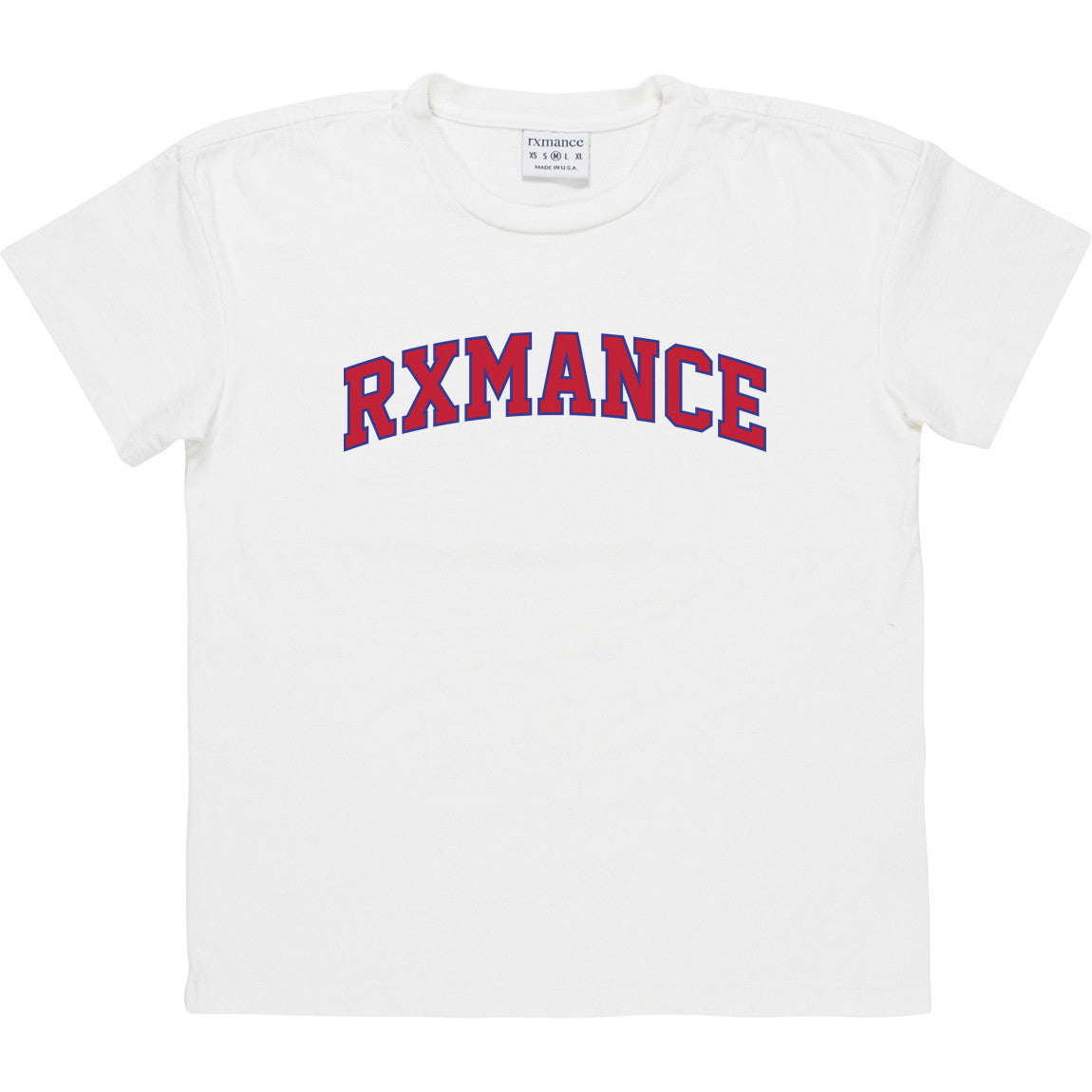 RXMANCE COLLEGE HEAVY BOX TEE