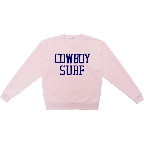 COWBOY SURF INSIDE OUT SWEATSHIRT