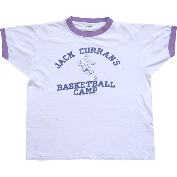 BASKETBALL CAMP VINTAGE T-SHIRT