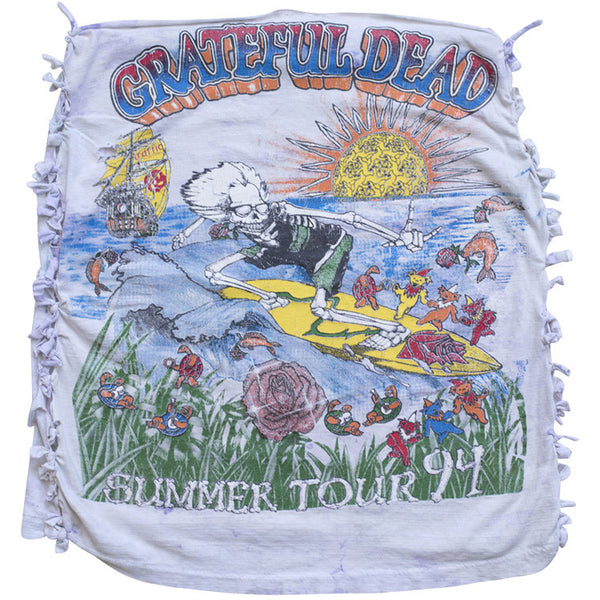 GRATEFUL DEAD HOMEMADE SHIRT / SKIRT / HALTER TOP / ETC.