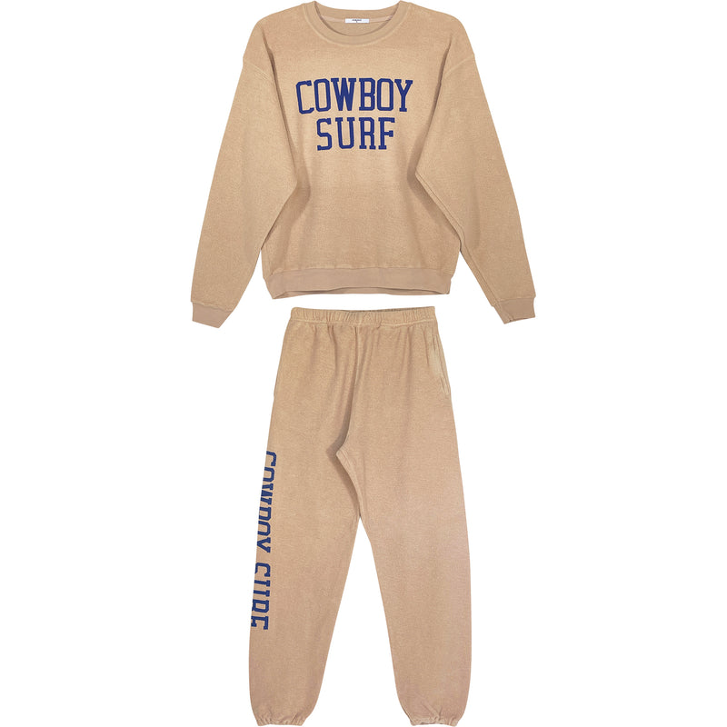 COWBOY SURF INSIDE OUT SWEATSUIT