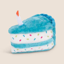 Load image into Gallery viewer, Zippy Paws - Birthday Cake Slice Blue