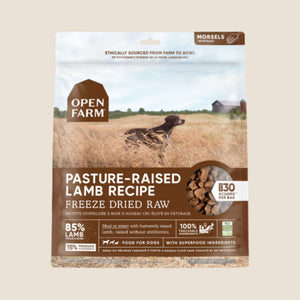 Open Farm Freeze-Dried Farmer's Table - Pasture-Raised Lamb Recipe