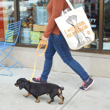 Load image into Gallery viewer, Polkadog Canvas Tote Bag